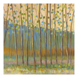 Through Pastel Trees Prints by Libby Smart