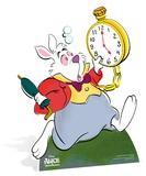 Alice in Wonderland - White Rabbit Silhouettes découpées en carton