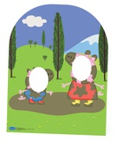 Peppa Pig Stand-In Muddy Puddle (Child sizes) Pappfigurer