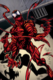 Marvels Spider-Man Panel Featuring Carnage Poster