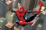Marvels Spider-Man Panel Featuring Spider-Man 2099 Prints