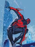 Marvels Spider-Man Panel Featuring Spider-Man 2099 Kuvia