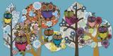 Owl Stock Reproduction procédé giclée par Helen Musselwhite
