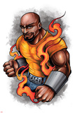 Marvel Knights - Luke Cage Character Art Plakater