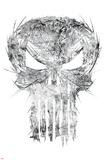 Marvel Knights - Punisher Art Design Stampe