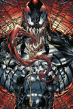 Marvels Spider-Man Panel Featuring Venom Prints