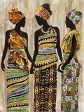 African Beauties Reproduction procédé giclée par Mark Chandon
