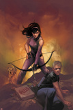 All-New Hawkeye No. 5 Cover Featuring Kate Bishop, Hawkeye Foto di Phil Noto