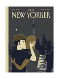 The New Yorker Cover - June 27, 2016 Giclée-Premiumdruck von Frank Viva
