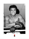 Muhammad Ali- Big Friendly Smile Poster