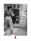 Muhammad Ali- Mirror Stare Down Plakater