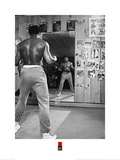 Muhammad Ali- Mirror Stare Down Kunstdruck