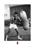 Muhammad Ali- Punching Bag Workout Art