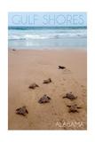 Gulf Shores, Alabama - Sea Turtles Hatching Kunst van  Lantern Press