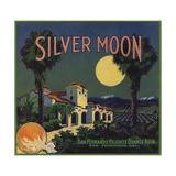 Silver Moon Brand - San Fernando, California - Citrus Crate Label Poster von  Lantern Press