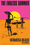 Hermosa Beach, California - the Endless Summer - Original Movie Poster Prints by  Lantern Press
