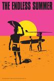 The Endless Summer - Original Movie Poster Kunstdrucke von  Lantern Press