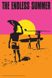 The Endless Summer - Original Movie Poster Art by  Lantern Press