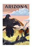 Arizona - Vultures Posters par  Lantern Press