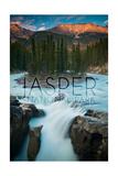 Jasper National Park, Alberta, Canada - Sunwapta Falls Pôsters por  Lantern Press