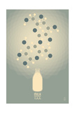 Milk - Chemical Elements Plakat af  Lantern Press