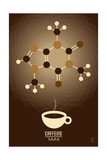 Caffeine - Chemical Elements Prints by  Lantern Press