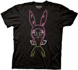 Bobs Burgers- Neon Louise T-Shirt