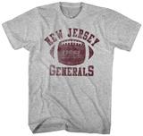 USFL- NJ Generals T-paidat