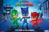 PJ Masks - Hero Time Posters