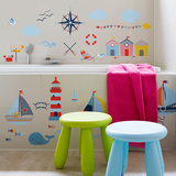 Seaside Sailing Wall Decal
