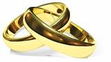 Eternity Wedding Rings Figura de cartón