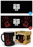 The Walking Dead - Handprint Heat Change Mug Krus