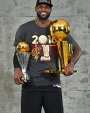2016 NBA Finals - Post Game Trophy Shoot Foto van Jesse D Garrabrant