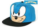 Sonic- I'm Outta Here Smirk Snapback Hat