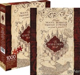 Harry Potter Marauder's Map 1,000 Piece Puzzle Jigsaw Puzzle
