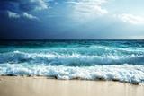 Waves at Seychelles Beach Fotografisk trykk av Iakov Kalinin