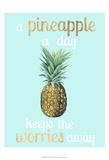 Pineapple Life I Láminas por  Studio W