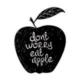 Fruit Apple Affiches van  Braun Studio