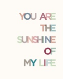 Sunshine Poster van  Braun Studio
