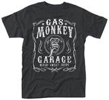 Gas Monkey- Blood, Sweat & Beers Label Skjorte