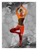 Yoga Pose I Giclee Print by Sisa Jasper