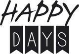 Les jours heureux Posters par  Braun Studio
