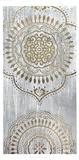 Metallic Foil Indigo Mandala I Posters by June Erica Vess
