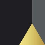 Triange doré Poster par  Braun Studio