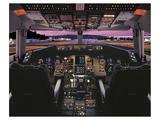Boeing 757 glass cockpit Kunstdrucke von  Anonymous