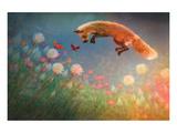 Chasing Butterflies Poster par Claire Westwood