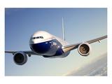 777-300ER Extended Range Kunstdruck von  Anonymous