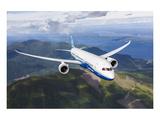 Boeing 787 Dreamliner Kunstdrucke von  Anonymous