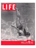 LIFE Ballet Swimmer 1945 Pôsteres