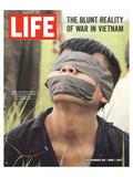 LIFE Captured Vietcong 1965 Lámina por  Anonymous